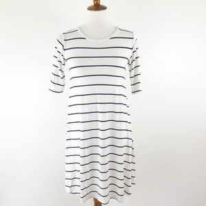 Old Navy Dress Swing XS Striped Nautical Jersey